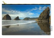 Sea Stacks In Blue Carry-all Pouch