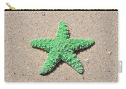 Sea Star - Green Carry-all Pouch by Al Powell Photography USA