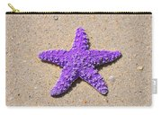 Sea Star - Purple Carry-all Pouch