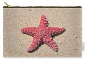 Sea Star - Red Carry-all Pouch
