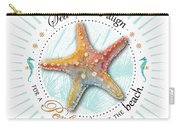 Sea Stars Align For A Perfect Day At The Beach Carry-all Pouch by Amy Kirkpatrick