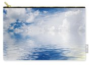 Sea Sun And Clouds Carry-all Pouch
