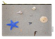 Sea Swag - Dark Blue Carry-all Pouch by Al Powell Photography USA