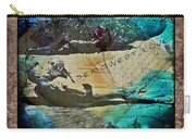 Sea Swept Love Carry-all Pouch
