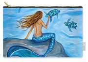 Sea Turtle Friends Carry-all Pouch