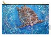 Sea Turtle Mr. Longevity Carry-all Pouch