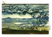 Seabirds Rising From The Marsh 2-27-15  Carry-all Pouch