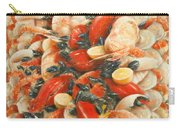 Seafood Extravaganza Carry-all Pouch by Lincoln Seligman
