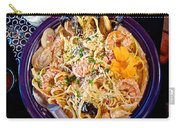 Seafood Fetticinni Alfredo At Cafe Cups Restaurant In Homer-ak   Carry-all Pouch