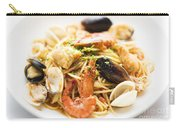 Seafood Pasta Dish Carry-all Pouch