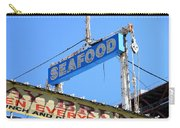 Seafood Sign Carry-all Pouch