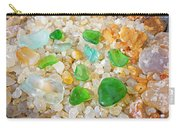 Seaglass Green Art Prints Agates Beach Garden Carry-all Pouch