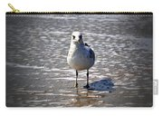 Seagull At Low Tide Carry-all Pouch