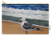 Seagull At The Seashore Carry-all Pouch