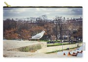 Seagull In Paris Carry-all Pouch