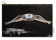 Seagull In The Moonlight Carry-all Pouch