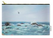 Seagull Over The Ocean Carry-all Pouch
