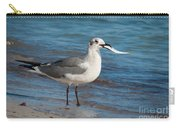 Seagull With Fish 1 Carry-all Pouch