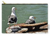 Seagulls Against Rust Carry-all Pouch