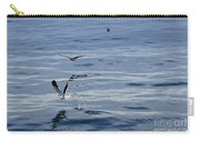 Seagulls At Malaga Sea - Port Of Malaga - Andaluzia - Spain Carry-all Pouch