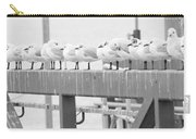 Seagulls In A Row Carry-all Pouch