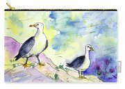 Seagulls In Calpe In Spain Carry-all Pouch