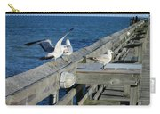 Seagulls Carry-all Pouch by Nelson Watkins