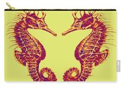 Seahorses In Love Carry-all Pouch