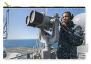 Seaman Stands Lookout Aboard Carry-all Pouch