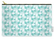 Seamless Pixel Pattern  Carry-all Pouch