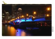 Seaport Boulevard Boston At Night Carry-all Pouch