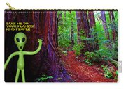 Searching For Friends Among The Redwoods Carry-all Pouch