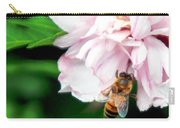 Searching Pink Flower Carry-all Pouch