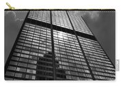 Sears Willis Tower Black And White 02 Carry-all Pouch