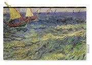 Seascape At Saintes-maries 1888 Carry-all Pouch