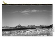 Seascape - Panorama - Black And White Carry-all Pouch