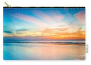 Seascape Sunset Carry-all Pouch by Adrian Evans