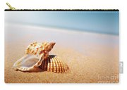 Seashell And Conch Carry-all Pouch