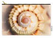 Seashell Wall Art 11 - Spiral Of Harpa Ventricosa Carry-all Pouch