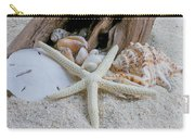 Seashells And Driftwood 2 Carry-all Pouch
