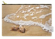 Seashells And Lace Carry-all Pouch