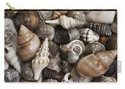 Seashells On The Beach Carry-all Pouch