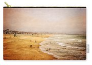 Seashore At Manhattan Beach Carry-all Pouch