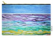 Seashore Blue Sky Carry-all Pouch