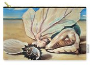 Seashore Shell Still Life Carry-all Pouch