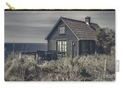 Seaside Cottage At Dusk Carry-all Pouch