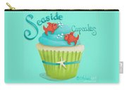 Seaside Cupcakes Carry-all Pouch