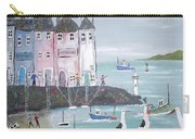 Seaside Houses Carry-all Pouch