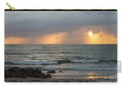 Seaside Rainstorm Carry-all Pouch