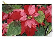Seasonal Scarlet Carry-all Pouch